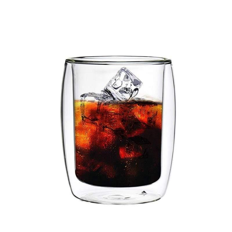 英倫系列雙層耐熱玻璃杯260ML