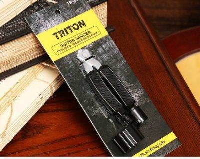 《白毛猴樂器》TRITON TR-S31 吉他工具 民謠吉他 木吉他 三合一 捲弦器 剪弦鉗 鈸弦器