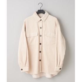 COLONY 2139(COLONY 2139) レディース コーデュロイCPOシャツジャケット アイボリー