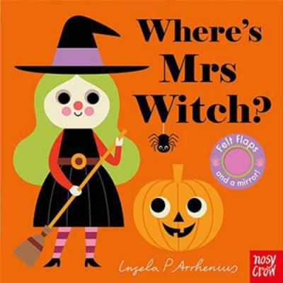 Where s Mrs Witch? 女巫在那裡?不織布翻翻書