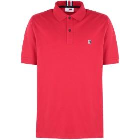 《セール開催中》TOMMY x LEWIS メンズ ポロシャツ レッド XL コットン 100% LEWIS HAMILTON LOGO S/S POLOS