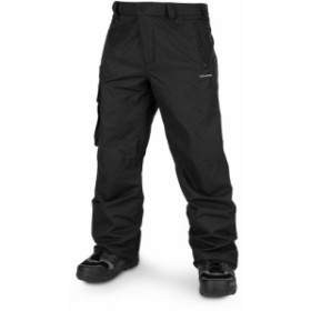 ボルコム Volcom メンズ スキー・スノーボード ボトムス・パンツ Ventral Snowboard Pants 2020 Black