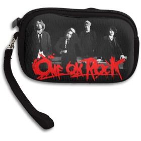 ワンオク ロック ONE OK ROCK 小さい財布 イヤホンケース ミニボックス ケース 収納袋 コイン 小物整理 薄い財布 ミニ財布 シンプル ミニバッグ