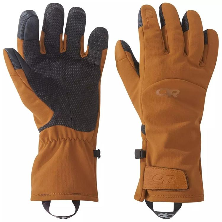 Outdoor Research 軟殼手套/登山手套 Inception Aerogel 271548 1654 咖啡棕