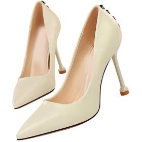 [ZJHZ] パンプス 痛くない ハイヒール パンプス 美脚 ポインテッドトゥ 痛くない 靴 パンプス スエード調 通勤 大きいサイズ 美脚パンプス ハイヒール ピンヒール pumps パンプス 22.0cm 結婚式 ホワイト 痛くない ヒール