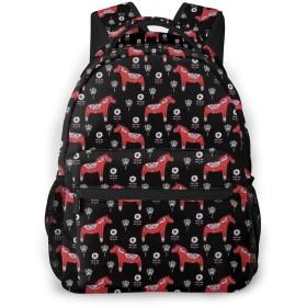 リュック 赤馬 バックパック リュックサック 大容量 軽量 おしゃれ 男女兼用 通学 出張 アウトドア 旅行 防水