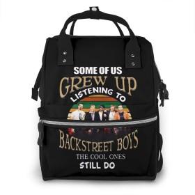 ミイラ袋 マザーズバッグ バックパック リュック ビジネスリュック バックストリート・ボーイズ リュックサック 旅行かばん プリント レディース 多機能 大容量 耐衝撃 人気