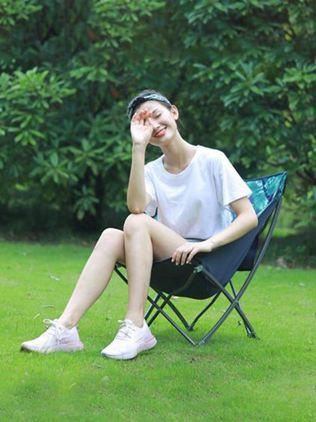 夢花園折疊椅子便攜戶外釣魚寫生美術椅靠背凳子休閒露營導演員椅