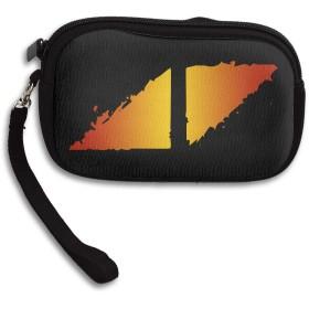 アヴィーチー Avicii ロゴ 小さい財布 イヤホンケース ミニボックス ケース 収納袋 コイン 小物整理 薄い財布 ミニ財布 シンプル ミニバッグ