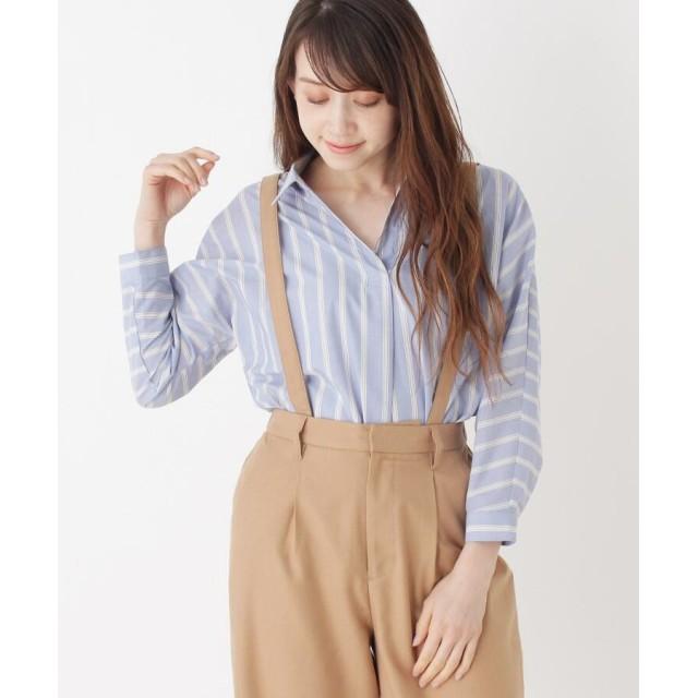 SHOO・LA・RUE/DRESKIP(シューラルー/ドレスキップ) ストライプスキッパーシャツ