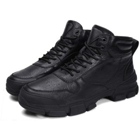 [dhiuebc] マーティンブーツ 26.5cm メンズ エンジニアブーツ 秋 靴 革靴 ビジュアル系 ブラック ショートブーツ コスプレブーツ ブーツ スエード ビンテージブーツ ファッション プレゼント ギフト 男性 彼氏 誕生日 超楽 軽量 ミリタリー