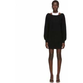アレキサンダー ワン alexanderwang.t レディース ワンピース ワンピース・ドレス Black Bi-Layer Dress