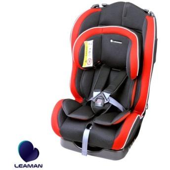 チャイルドシート カイナ ブラック 20002 新生児から7歳頃 車 ジュニア 子供 軽量 3Dメッシュ コンパクト リーマン/LEAMAN CG002