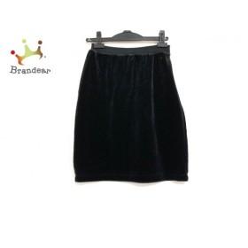 ソニアリキエル SONIARYKIEL スカート サイズS レディース 美品 黒 ベロア 新着 20191123