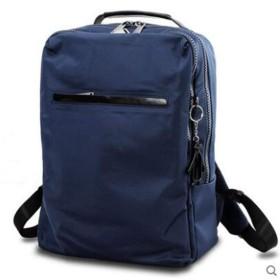 リュック バックパック メンズ 大容量 メンズ バックパック 大容量 トラベルバッグ カジュアル 日常 旅行 (Color : Blue, Size : S)