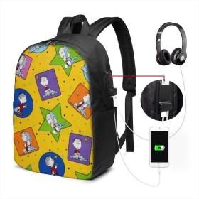 ピーナッツプロジェクトLinus リュック バックパックリュックサック USB充電ポート付き イヤホン穴付き 大容量 PCバッグ レジャーバッグ 旅行カバン 登山リュック ビジネスリュック ユニセックス おしゃれ 人気