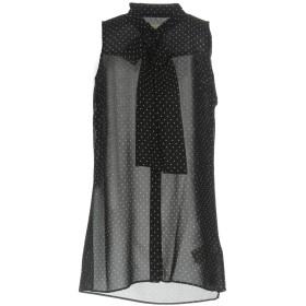 《セール開催中》MICHAEL MICHAEL KORS レディース シャツ ブラック 0 100% ポリエステル