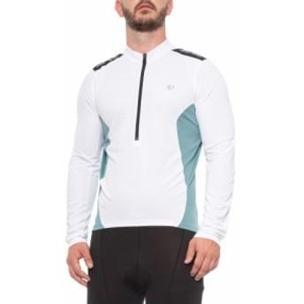 パールイズミ Pearl Izumi メンズ 自転車 トップス Quest Cycling Jersey - Long Sleeve White/Arctic