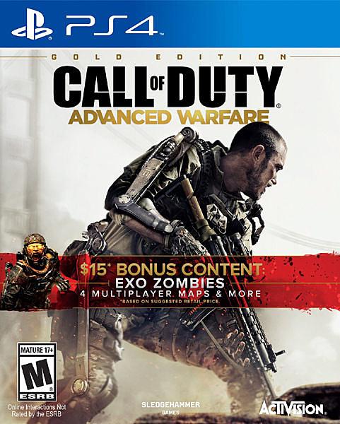 PS4 決勝時刻:先進戰爭 黃金版(美版代購)