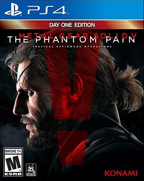 PS4 潛龍諜影 5:幻痛(美版代購)