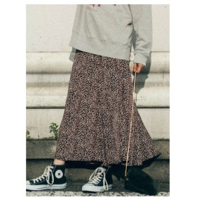 LIPSTAR(リップスター)レオパード柄マーメイドスカート