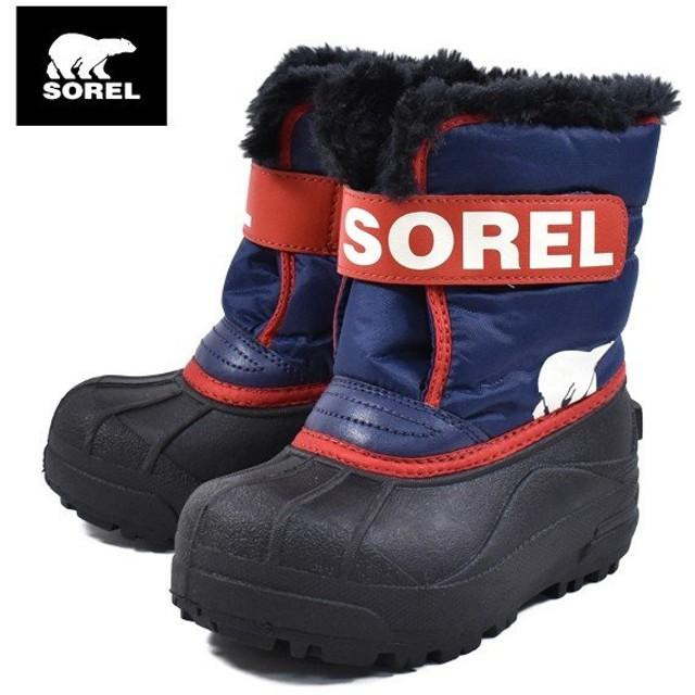 キッズ ブーツ SOREL ソレル NC1960-591 CHILDRENS SNOW COMMANDER GG3 K23