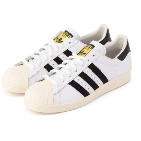 [ノーリーズ グッドマン] addidas/アディダス SUPERSTAR 80s (G61070/G61069) 9-0749-6-67-310 27 ホワイト