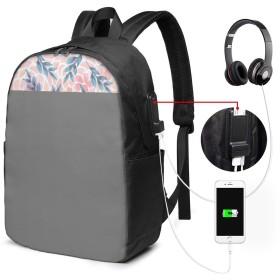 サマーリーフ リュック バックパックリュックサック USB充電ポート付き イヤホン穴付き 大容量 PCバッグ レジャーバッグ 旅行カバン 登山リュック ビジネスリュック ユニセックス おしゃれ 人気