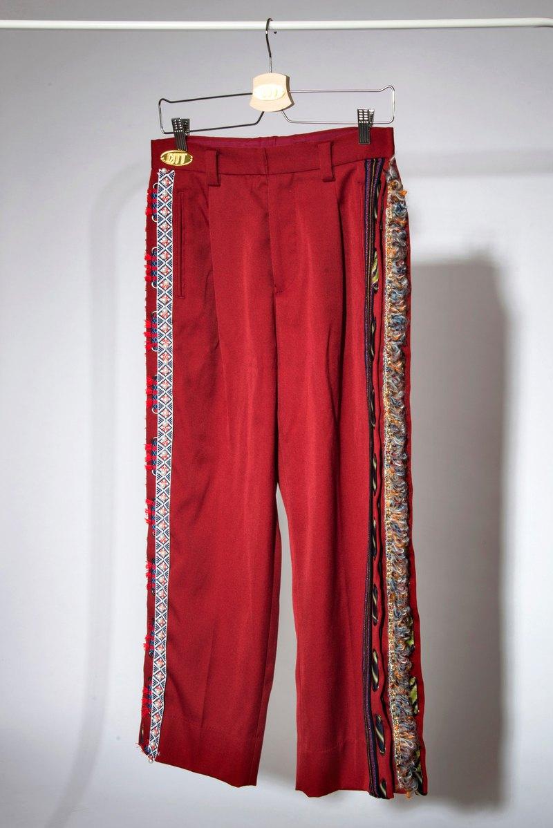 只此1件*Nomadic Trousers with Embroidered Details*