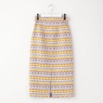 ノーリーズ レディース(NOLLEY'S)/ファンシーツイードタイトスカート