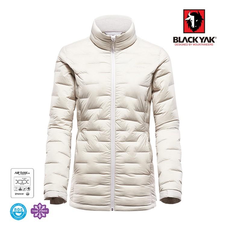 【BLACK YAK】女Tube輕量羽絨外套[米白色] 秋冬 保款 羽絨外套 |BYIA2WJ40195