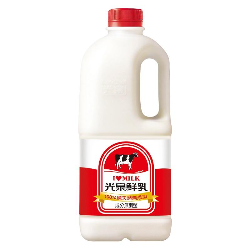 光泉100純鮮乳(無調整)1857ml到貨效期約6-8天