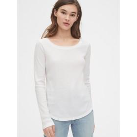 Gap ワッフルスクープネックTシャツ