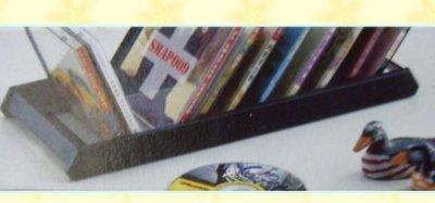 Ψ網路批發商城Ψ臺灣製造 可收納20片CD光碟架使家中整整齊齊好拿取置物架CD架 一標4個