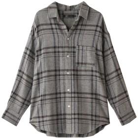 JET ジェット 【JET LOS ANGELES】コットンチェックシャツ グレー