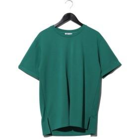 76%OFF tk.TAKEO KIKUCHI (ティーケー タケオキクチ) グログランポンチ グリーン系