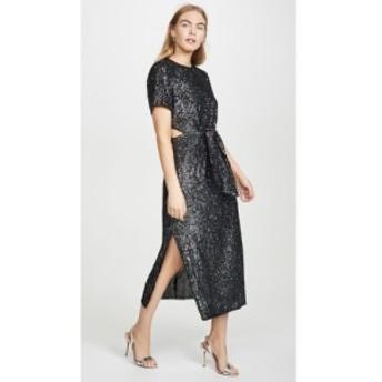 カメオ C/Meo Collective レディース ワンピース ミドル丈 ワンピース・ドレス Lustre Midi Dress Black Sequin