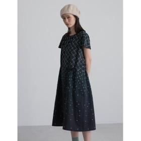 Sally Scott Argyle Rain / ドレス ワンピース,ブラック(05)