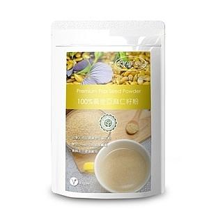 【樸優樂活】100%黃金亞麻仁籽粉(400g/包)