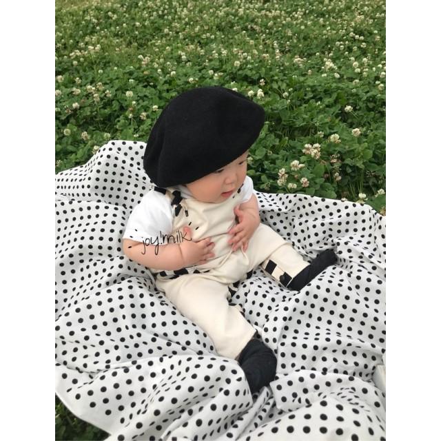 7月中発送分【70-85cm】 baby salopette