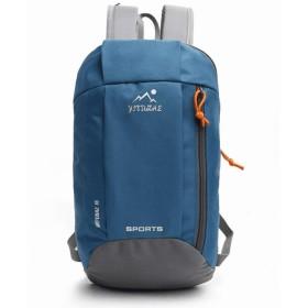 Anamony サイクリングバックパック、20L自転車バックパック防水通気性アウトドア旅行ハイキング登山バックパック (色 : Moroccan Blue)
