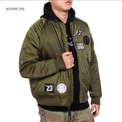 NIKE JORDAN 刺繡 運動外套 飛行外套 棒球外套 男生 軍綠 AV5999-395