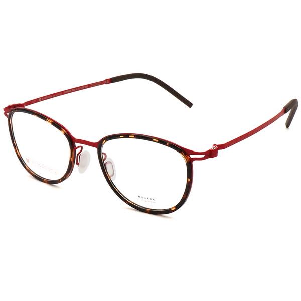 VYCOZ 眼鏡 DURRA系列 薄鋼潮流設計款 琥珀棕 紅 DR9005 RED-H