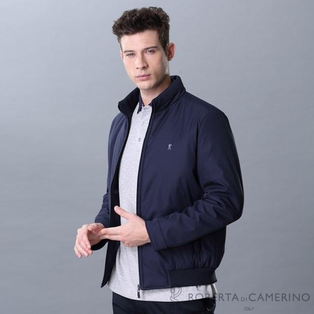ROBERTA諾貝達 禦寒必備 百搭厚舖棉夾克外套ROG78-39深藍