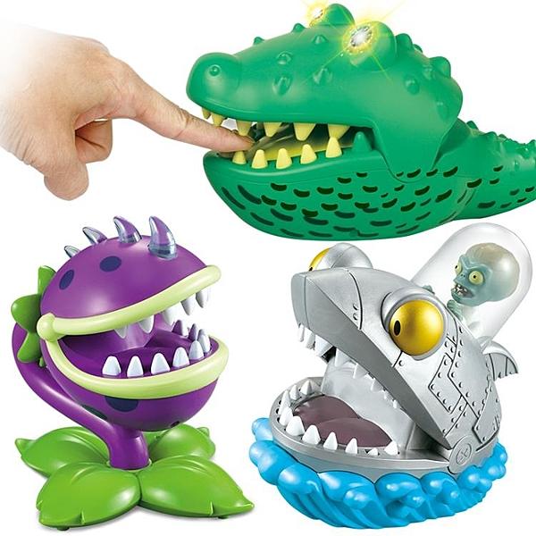 整蠱玩具拔牙鱷梨魚咬手食人花機械鯊魚BOSS - 風尚3C