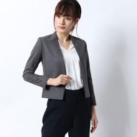 リネーム Rename キレイ目ノーカラージャケット (グレー)
