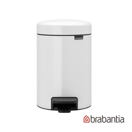 【Brabantia】NEWICON純靜白垃圾桶-3L