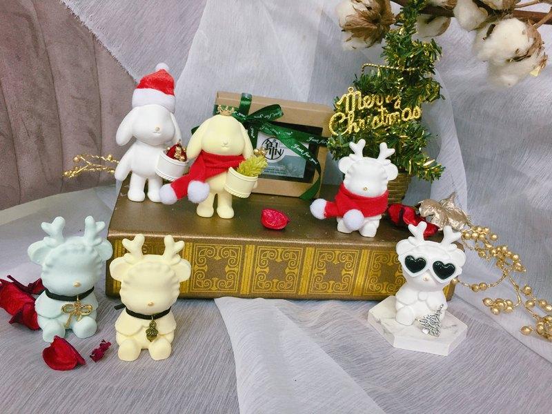 【最可愛聖誕節交換禮物】Xmas造型擴香石 I 附聖誕包裝+贈送精油