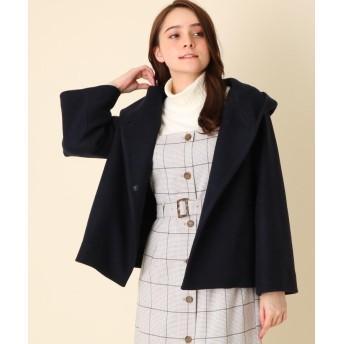 Couture Brooch(クチュールブローチ) 【WEB限定プライス/WEB限定サイズ(LL)あり】メルトンフーデットコート