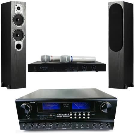 音質細膩耐操 麥克風混音、自動接唱、響度加強 高低迴音可調整